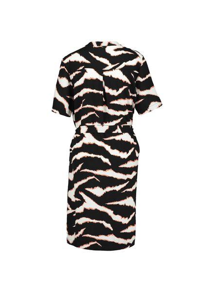 damesjurk zwart/wit zwart/wit - 1000013891 - HEMA