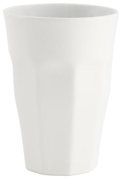 mok - 330 ml - Mirabeau mat - wit - 9602210 - HEMA