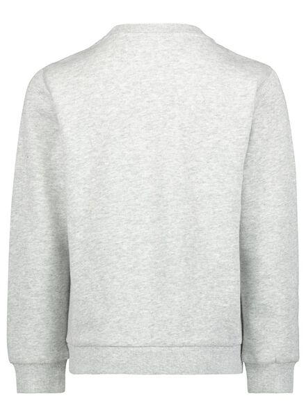 kindersweater grijsmelange grijsmelange - 1000017375 - HEMA