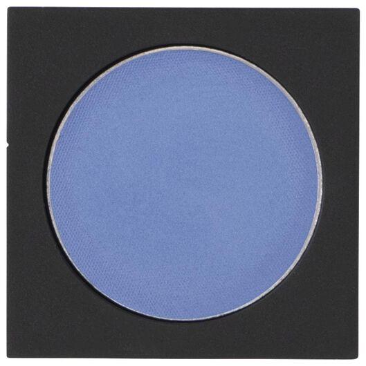 oogschaduw mono satin 07 bonny blue blauw navulling - 11210307 - HEMA