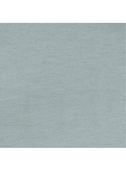 babyromper - biologisch katoen groen groen - 1000005038 - HEMA