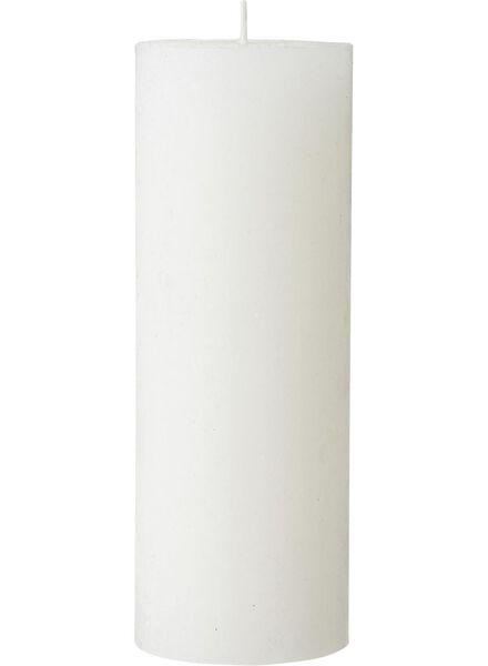 rustieke kaars 7 x 19 cm - 13500816 - HEMA
