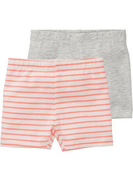 2-pak baby leggings multicolor multicolor - 1000007260 - HEMA