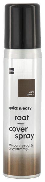 uitgroei spray donkerbruin - 11050044 - HEMA