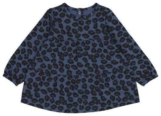 babyjurk donkerblauw donkerblauw - 1000021815 - HEMA
