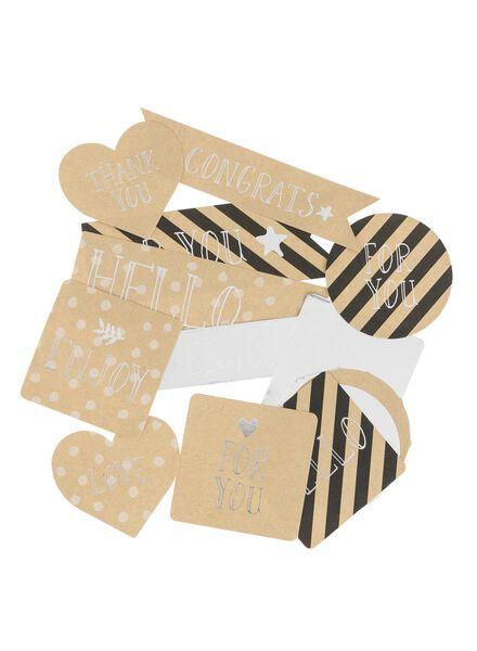 15-pak stickers - 14700043 - HEMA