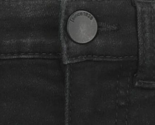 kinderjeans skinny fit zwart - 1000020289 - HEMA