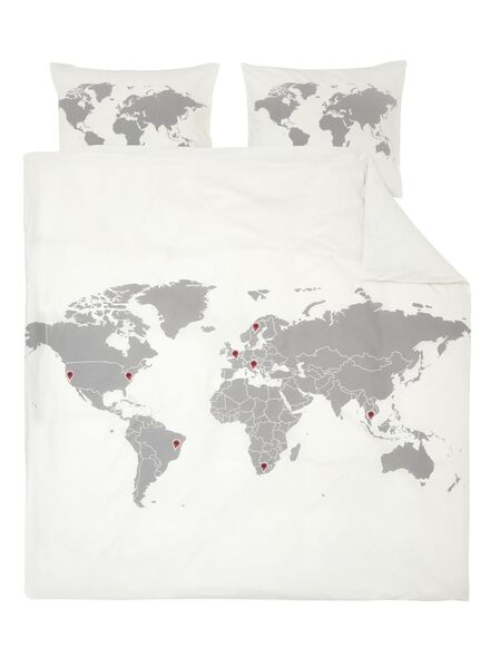 soft cotton dekbedovertrekset 200 x 200 - 5700151 - HEMA