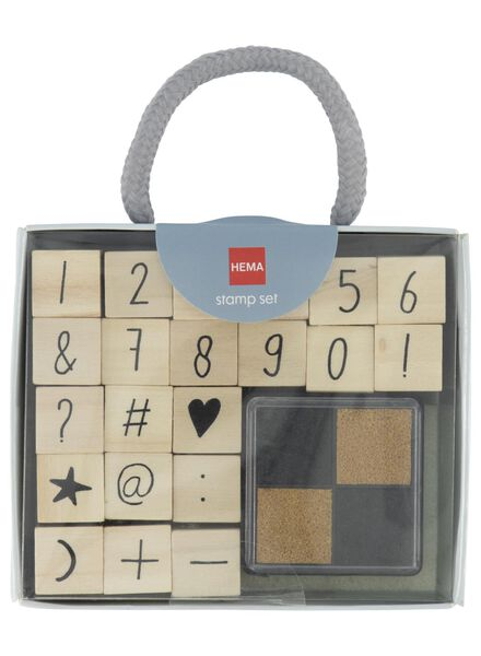 stempelset cijfers - 14835812 - HEMA