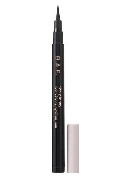 B.A.E. eyeliner pen 12h glossy deep black - 17700021 - HEMA