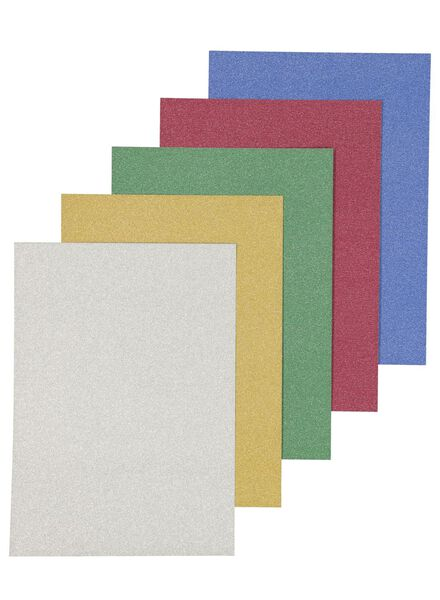 20-pak glitterpapier - 15910190 - HEMA