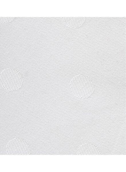 servet - 48 x 48 - katoen - wit stip - 5390117 - HEMA