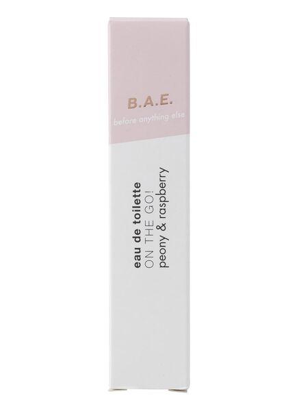 B.A.E. edt on the go! peony and raspberry 10ml - 17730011 - HEMA