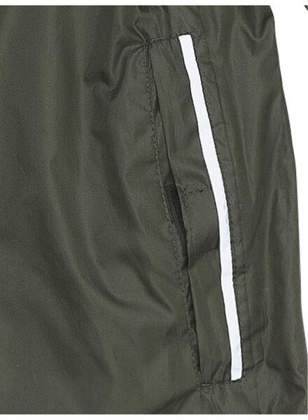 opvouwbare regenjas groen L - 34480013 - HEMA