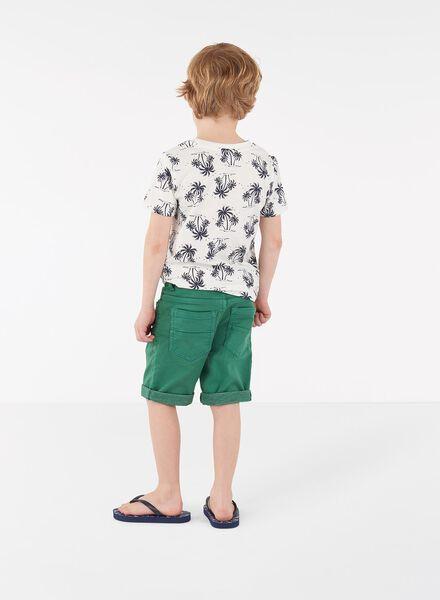 kindershort middengroen middengroen - 1000012049 - HEMA