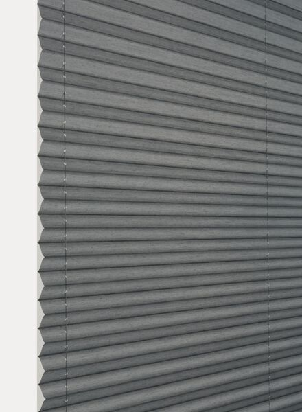 plisségordijn uni transparant 20 mm - 7430032 - HEMA