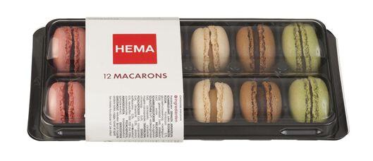 macarons 12 stuks - 6311898 - HEMA