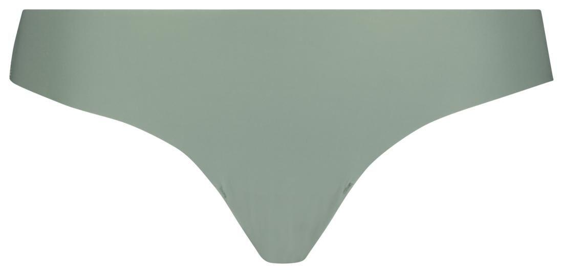 HEMA Damesstring Met Kant Groen (groen)