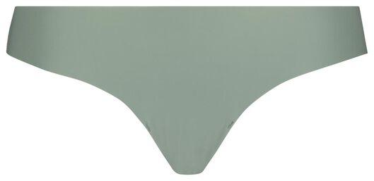 damesstring met kant groen XS - 19616091 - HEMA