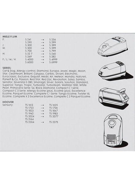 4-pak stofzuigerzakken Miele - 20560300 - HEMA
