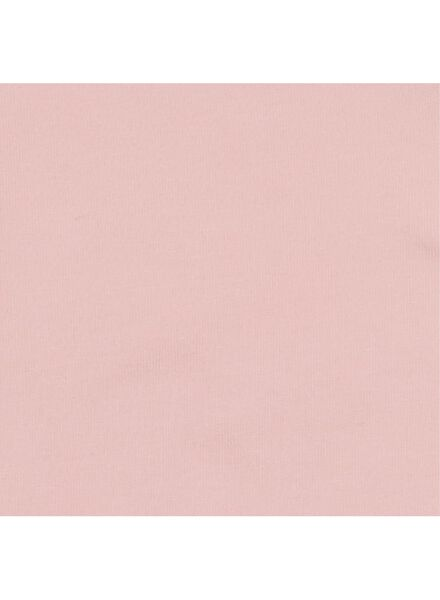 romper biologisch katoen stretch lichtroze lichtroze - 1000015073 - HEMA