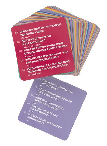 spelletjeskaarten dieren - 15110197 - HEMA