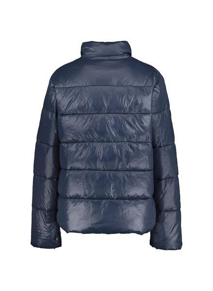 dames donsjack donkerblauw donkerblauw - 1000014740 - HEMA