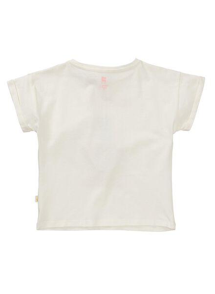 kinder t-shirt gebroken wit gebroken wit - 1000013092 - HEMA