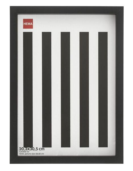 fotolijst - hout - zwart - 20.3 x 30.5 20.3 x 30.5 zwart - 13691020 - HEMA