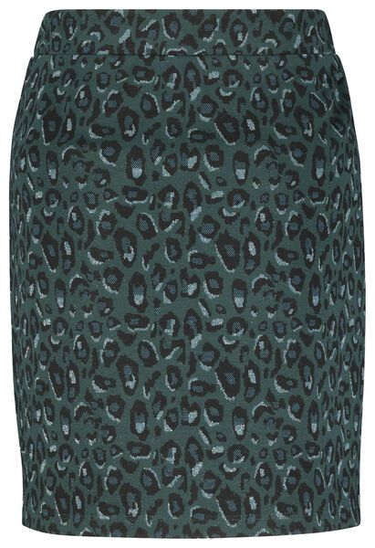 damesrok groen groen - 1000022095 - HEMA