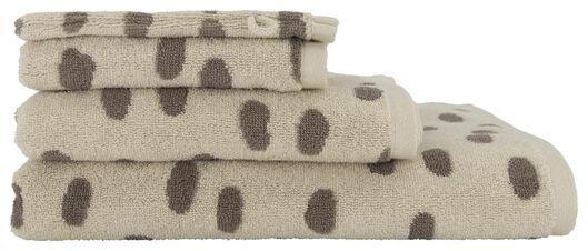 handdoek - zware kwaliteit zand zand - 1000018648 - HEMA