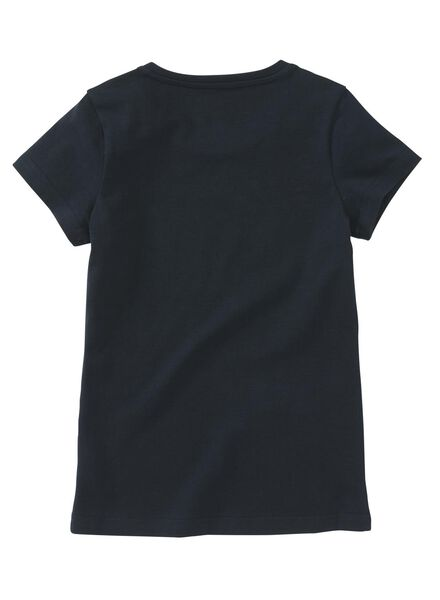 kinder t-shirt donkerblauw - 1000008480 - HEMA