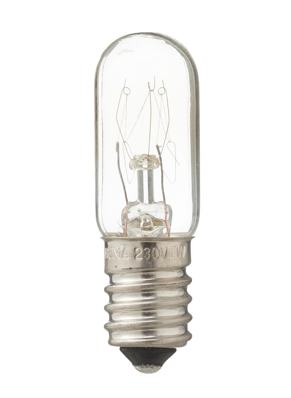 HEMA Gloeilamp 7W – 21 Lm – Parfumlamp – Helder