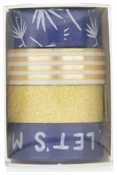 washi tapes - 4 stuks - 14132302 - HEMA
