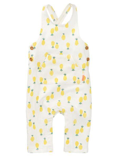 newborn jumpsuit gebroken wit gebroken wit - 1000007796 - HEMA
