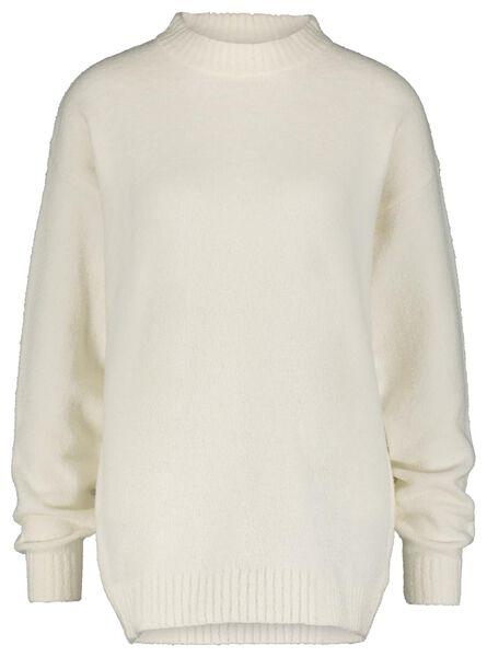 damestrui met wol gebroken wit - 1000021457 - HEMA
