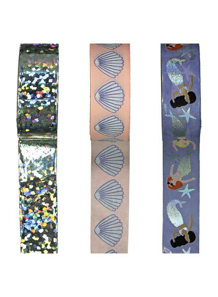 washi-tape - 3 stuks - 14501290 - HEMA