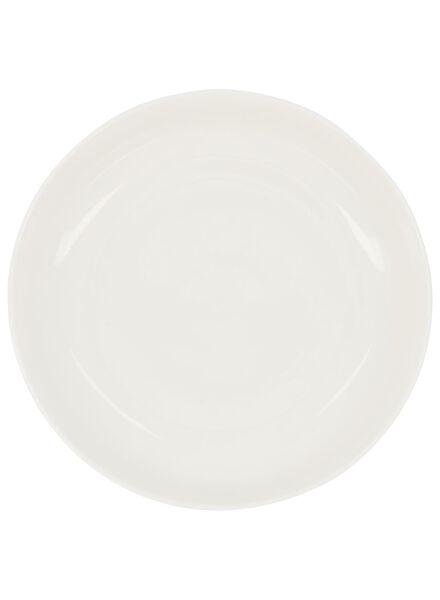 diep bord - 21 cm - Rome - new bone - wit - 9602044 - HEMA