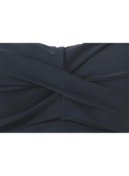 damesbadpak control donkerblauw donkerblauw - 1000006625 - HEMA
