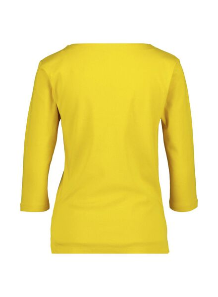 dames top geel geel - 1000015183 - HEMA