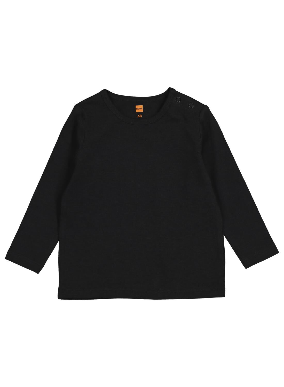 baby t-shirt met bamboe zwart