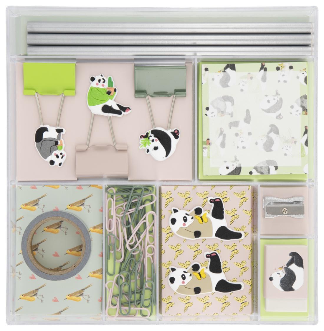 HEMA Bureau Accessoires Set 19.5x19x3 Panda