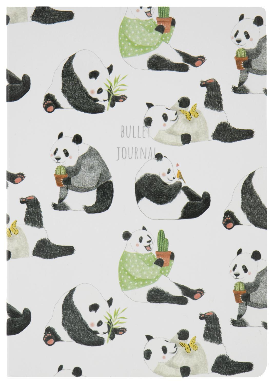 HEMA Bulletjournal A5 Panda