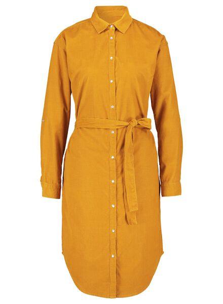 damesjurk oranje oranje - 1000017131 - HEMA