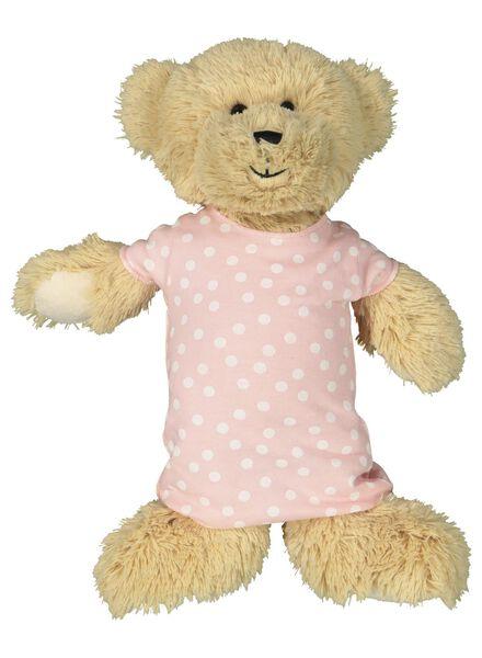 kindernachthemd Jip en Janneke & poppen nachthemd lichtroze lichtroze - 1000014951 - HEMA