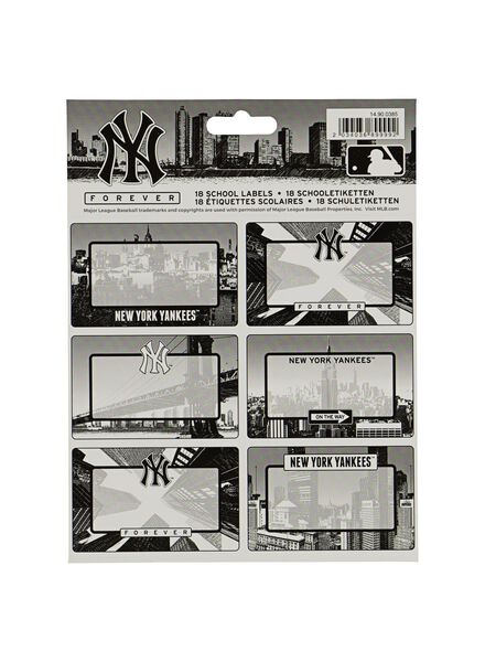 etiketten NY forever - 18 stuks - 14900385 - HEMA