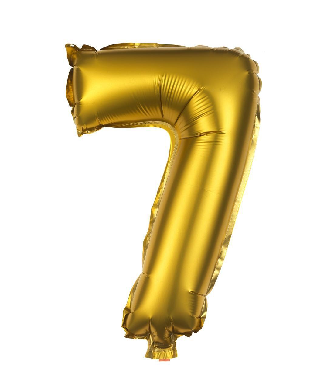 HEMA Folie Ballon 7 (goud)
