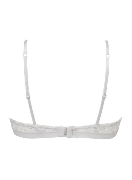padded tiener beugelbh AA-A grijsmelange grijsmelange - 1000002560 - HEMA