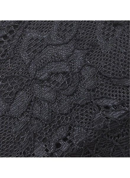 bh non padded B-D zwart zwart - 1000002343 - HEMA