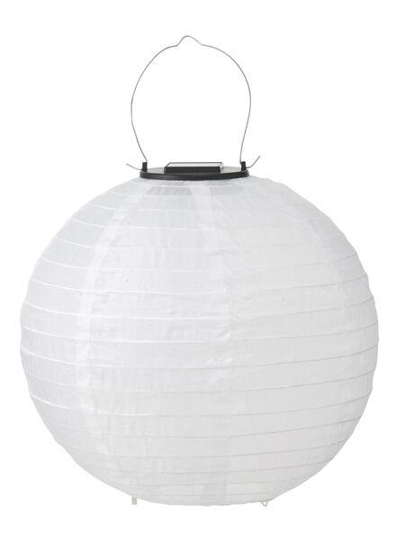 solar tuinlampion - 28 cm - wit - 13190001 - HEMA
